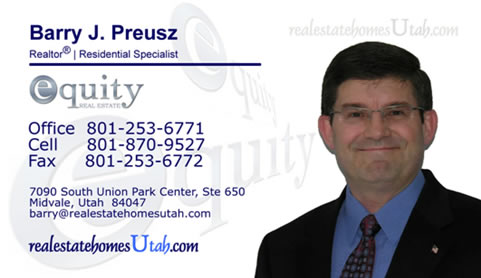 Equity Real Estate Business Card